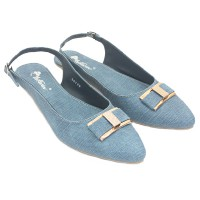 Dr.Kevin Women Shoes Jonquil Flower 26129 Blue