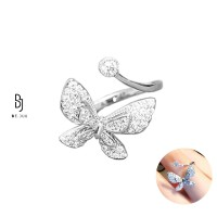 BE.JUU Cincin Cel Mai Frumos Fluture Korean Jewelry
