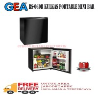 Gea RS-06DR Kulkas Portable Mini Bar - Hitam