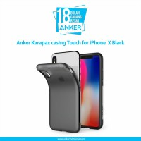 Anker Karapax casing Touch for iPhone X Hitam A9004H11