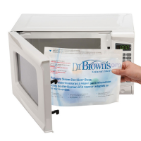 Dr. Brown's Microwave Steam Sterilizer Bags / kantong steril microwave / kantong plastik sterilizer