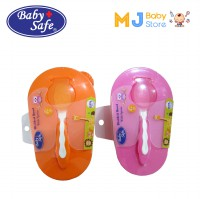 Baby Safe 3370 - Divided Bowl with Spoon / Mangkok & Sendok Makan Bayi