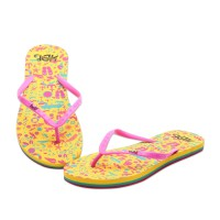 HDF Sandal Wanita | SPLASHY [PINK/YELLOW]