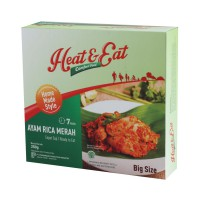 Heat & Eat Ayam Rica Merah 250gr