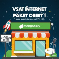 Paket Vsat IP Mango for Cafe atau Warnet ORBIT 1