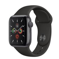 Apple Watch Series 5 Aluminium 40mm Space Grey with Black Sport Band