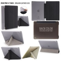 iPad Pro 9.7 Inch Origami Stand Leather Case Casing Cover