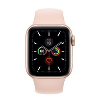 Apple Watch Series 5 Aluminium 44mm Gold with Pink Sand Sport Band