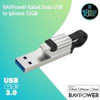 RAVPower Kabel Data USB to iphone 64GB  [RP-IM013]