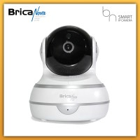 Brica Nova IPCam CCTV - BN 2 - BN2 - Smart IPCam - Pan and Tilt - IP Camera - Wireless CCTV - White