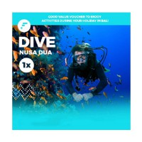 Dive in Nusa Dua Voucher watersport