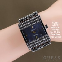 Jam Tangan Wanita / Jam Tangan Murah Guess Pixie Full Black Color