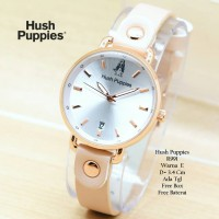 Jam Tangan Wanita / Jam Tangan Murah Hush Puppies Beauty Cream Color