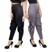 FATIN PLEATS PANTS/CELANA PLEATS - FIT TO XL /AVAILABLE IN 5 COLOURS
