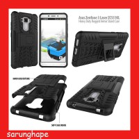Asus Zenfone 3 Laser ZC551KL Heavy Duty Rugged Armor Stand Case Casing Cover