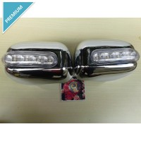 Cover Spion Led Chrome Agya+Sein