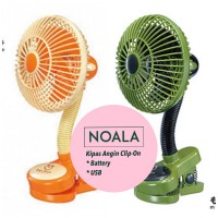 Kipas Angin Portable / Momonga Latte Clip-On Fan / Kipas Angin Stroller
