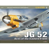 Kagero JG 52 - Aces of the Eastern Front decal model kit