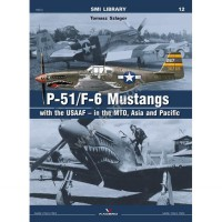 Kagero P-51/F-6 Mustangs with the USAAF – in the MTO, Asia and Pacific masker kanopi model kit