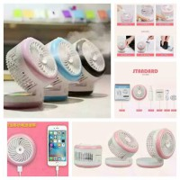 Portable Mini Fan Dan Humidifier Kipas Angin Usb Dan Pelembab Sein