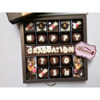Chocolate Gift - Exclusive Box Happy Graduation