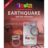 KONDOM FIESTA Earthquake + Ring Getar