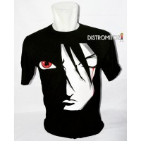 Kaos Distro Anime Sasuke Sharingan