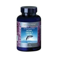 Wellness Omega 3 Fish Oil Original 1 botol 75 kapsul SJ0002