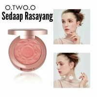 O.TWO.O 6 Colors Blush Natural Baked Face Mineral Blusher Palette
