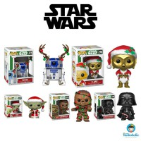 Funko POP! Set Promotion - Star Wars Christmas Holiday (5 items)