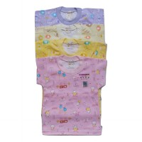 4pcs 0-1-2-3 Th BAJU OBLONG  Rimoshi BABY BAYI - GIRLS - SNI  JAPAN STANDART