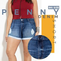 Branded Women Short Pants - 2 Model - Good Material -  Celana Pendek Wanita - Available For Big Size