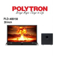 POLYTRON TV LED 39 INCH TYPE 40B150 + SOUNDBAR