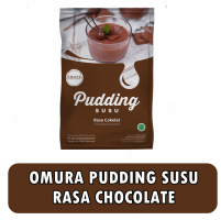 Omura Dessert Shooter Pudding susu rasa Chocolate