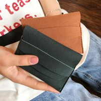 dompet kulit mini cewek women leather envelope wallet purse bdo108