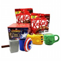 Nestle kitkat 12packs x 2pc free mug marvel avengers infinity war more