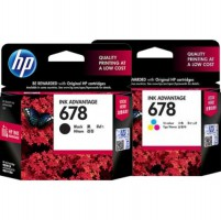 (Termurah) Tinta Original HP INK 678 Black  Colour Cartridge - For 1515, 2545