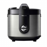 Philips Rice Cooker HD3128/30132  2L- Silver/Gold