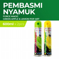 Force Magic Green Apple & Lemon Pop Art 600 ml