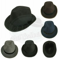 Topi fedora made by D & D Production