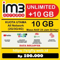 Promo Paket Data Indosat 10GB 24Jam 30Hari Internet Plus