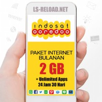PROMO Indosat Paket Data Freedom U 2GB+7.5Gb Apps, 30hr