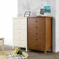 iFURNHOLIC Will High Chest - Brown - Lemari Laci Susun Minimalis - Furniture