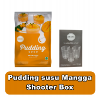 Omura pudding susu mangga & Shooter Box