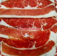 Daging Sapi Lapis Shortplate AUS Sliced Beef 500gr