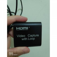 Video Game Capture Card Usb2.0 Hd 1080p 30fps Dengan Hdmi Output promo
