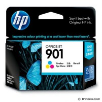HP Tri-Color Ink Cartridge 901 [CC656AA]