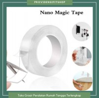 Nano magic tape transparant ity grip isolasi original box