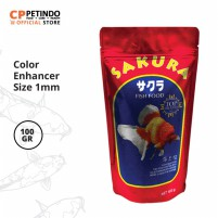 CPPETINDO Sakura Fish Food 1mm  - 100gr