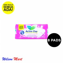 LAURIER ACTIVE DAY SUPER MAXI 8 PADS